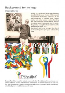 Background to TransMind Logo