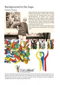 Background to TransMind Logo